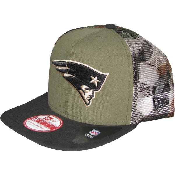 New Era 9Fifty Meshed Camo Snapback Cap