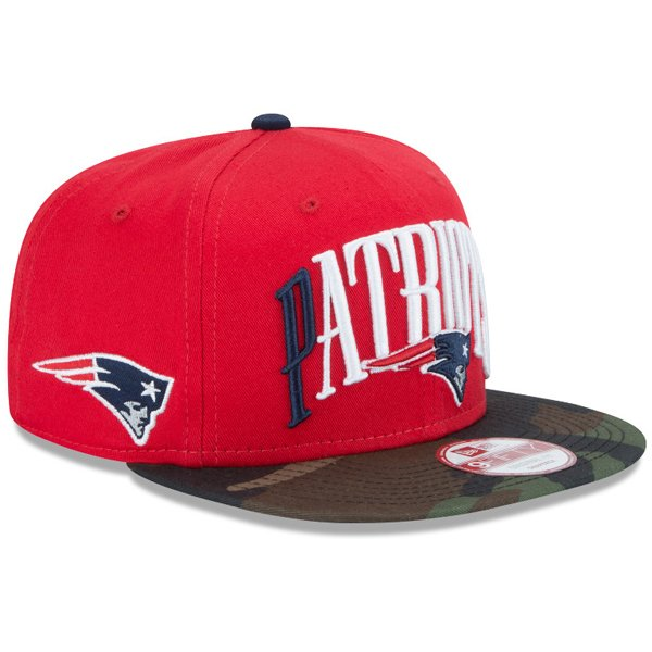 New Era FE Team Lead 9Fifty Snap Cap-Red/Camo