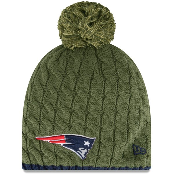 Ladies Salute To Service 2014 Knit Hat-Green