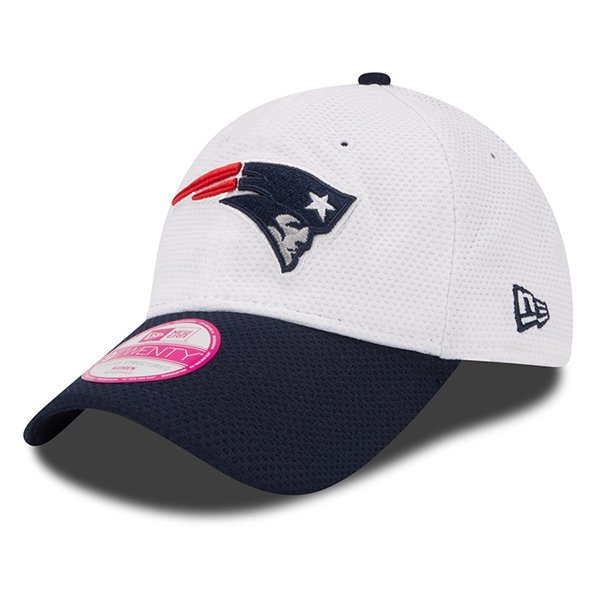 Ladies New Era 2015 Training 9Twenty Cap-White/Navy
