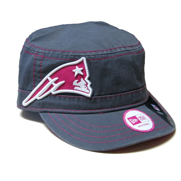 Ladies New Era Cadet Cap-Pink/Charcoal