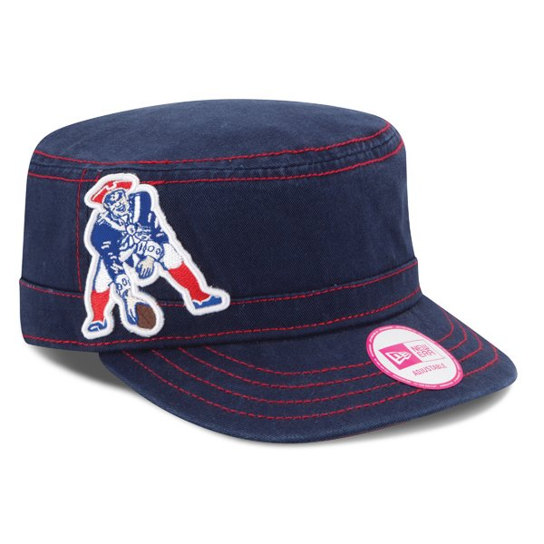Ladies New Era Throwback Chic Cadet Cap-Blue