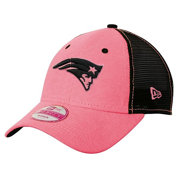Ladies New Era Trucker Cap-Pink