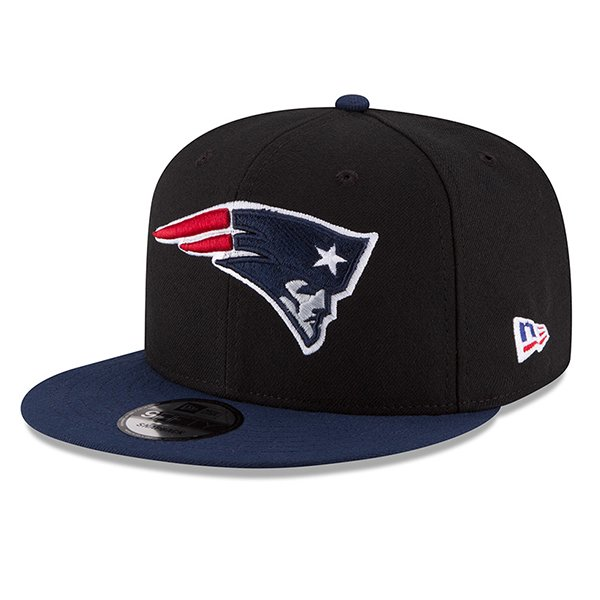 New Era Made in America 9Fifty Snap Cap-Black/Navy