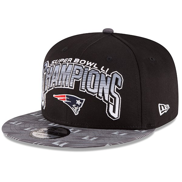 New Era Super Bowl LI Champions 9Fifty Snap Cap-Black