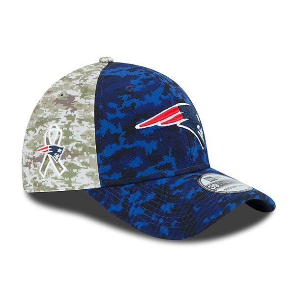 New Era 2015 Salute to Service 39Thirty Flex Cap-Navy/Camo