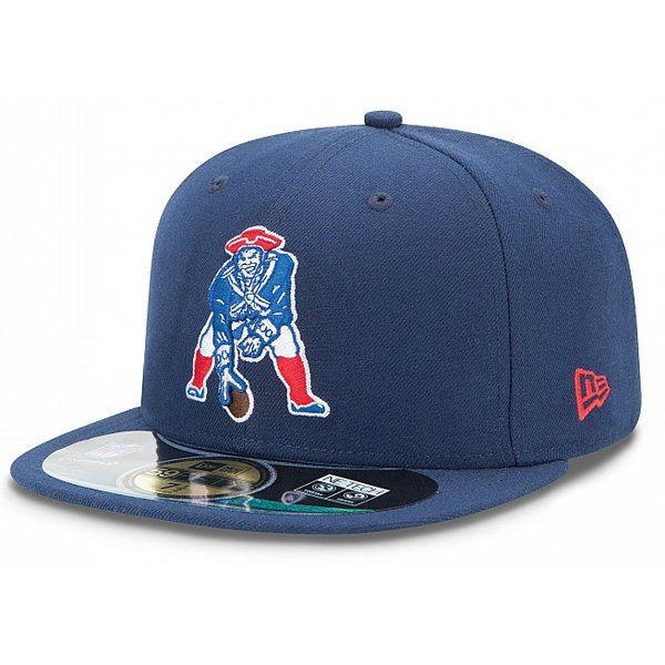 New Era Throwback 59Fifty Fitted Cap-Navy
