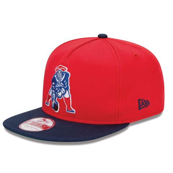New Era Throwback 9Fifty Snap Cap-Red/Navy