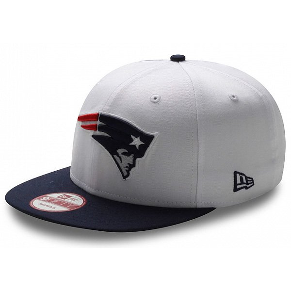 New Era White Top 9FIFTY Snapback Cap
