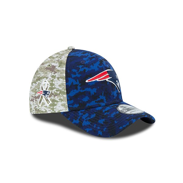 Youth New Era Salute to Service 39Thirty Cap-Navy/Camo