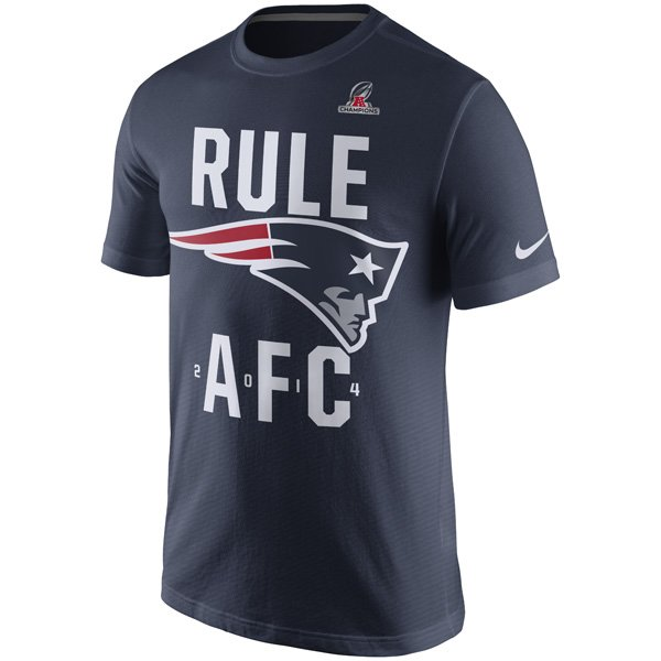 2014 Patriots Rule AFC S/S Tee-Navy