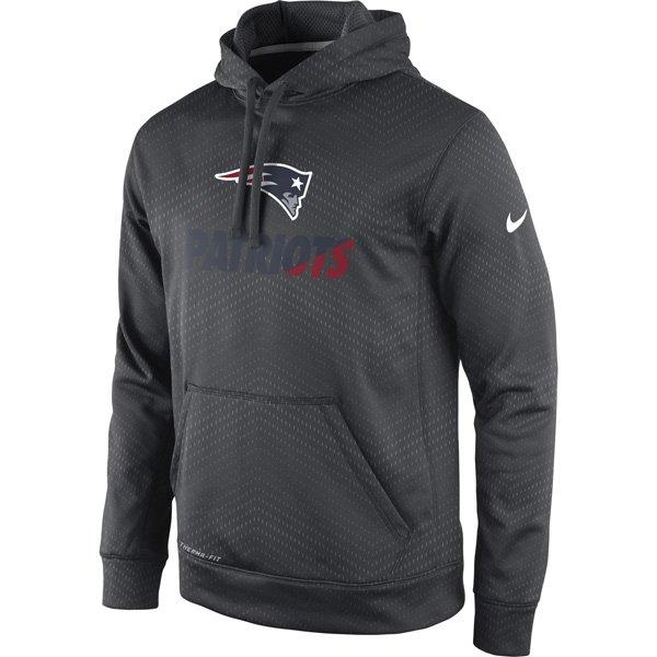 Nike 2015 Sideline KO Hood-Charcoal