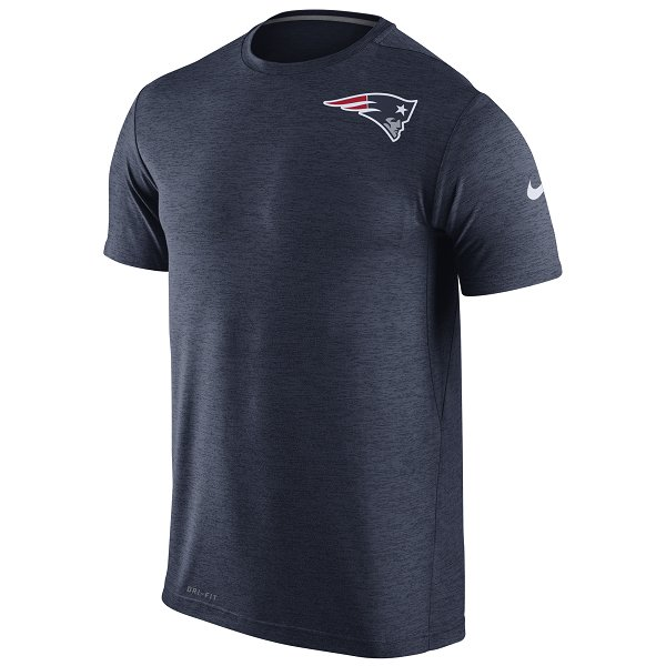 Nike Dri-Fit Touch Top-Navy