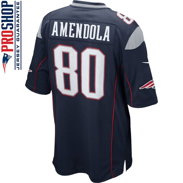 Nike Danny Amendola #80 Game Jersey-Navy