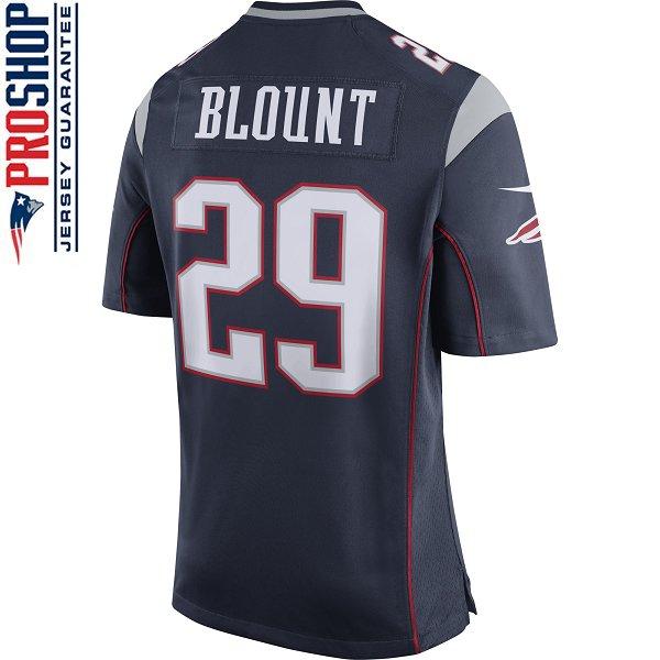 Nike LeGarrette Blount #29 Game Jersey-Navy
