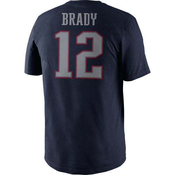 Nike Tom Brady Name & Number II Tee
