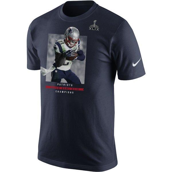 Nike Butler/Super Bowl XLIX Champions Tee-Navy