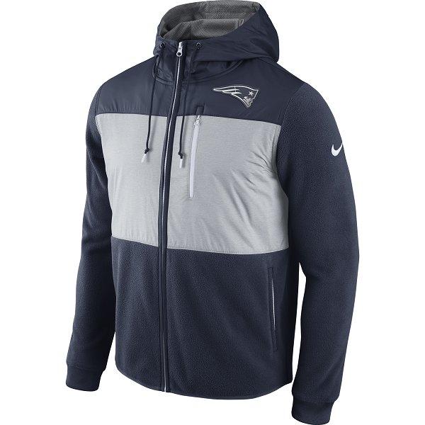 Nike Champ Drive Full Zip Hood-Navy