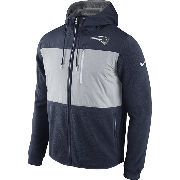 Nike Champ Drive Full Zip Hood-Navy