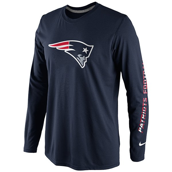 Nike Conference Legend Long Sleeve Tee-Navy