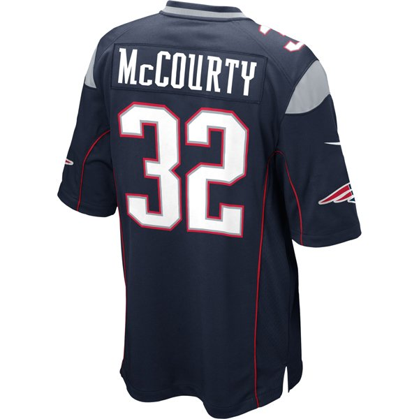 2014 Nike Devin McCourty #32 Game Jersey-Navy