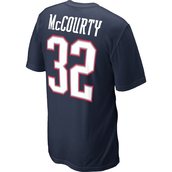 2012 Nike McCourty Name and Number Tee