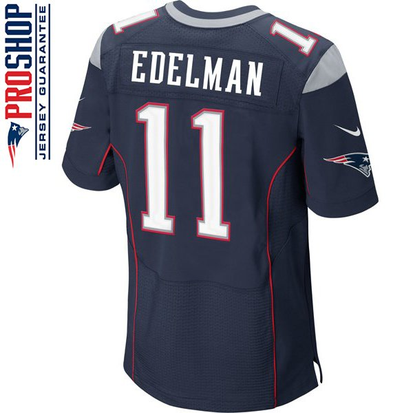 Nike Elite Julian Edelman #11 Jersey-Navy