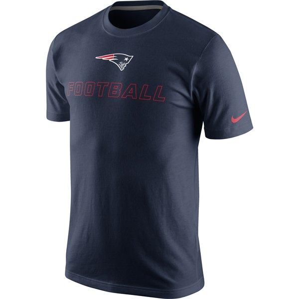 Nike Football Tee-Navy