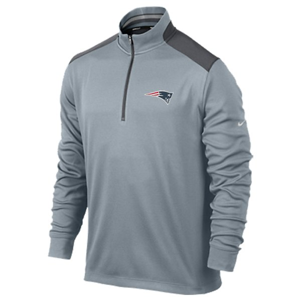 Nike 1/2 Zip Top-Gray