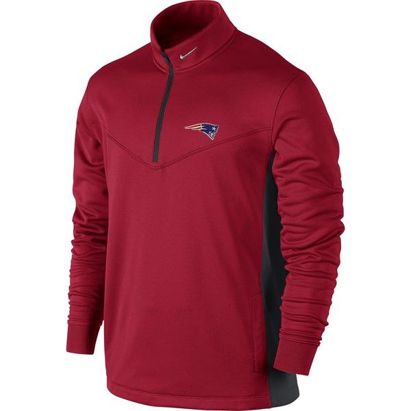Nike 1/2 Zip Top II-Crimson