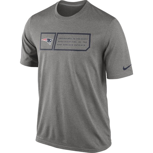 Nike Legend Jock Tee-Gray