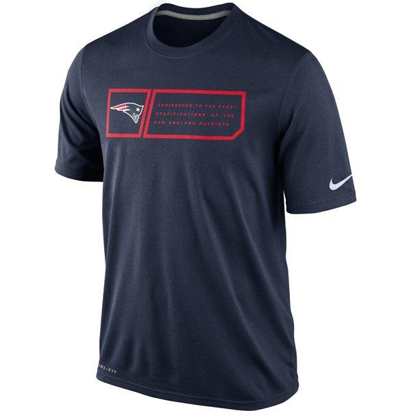 Nike Legend Jock Tee-Navy