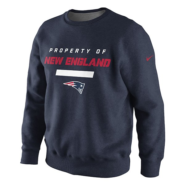 Nike Patriots Property of Crew-Navy