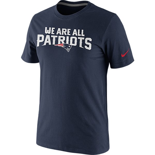 Nike We Are All Patriots Tee-Navy