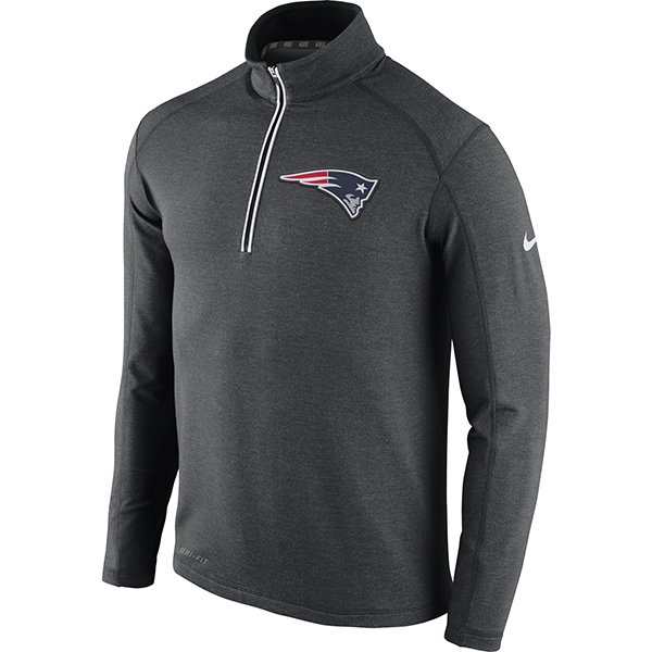 Nike Game Day 1/2 Zip Top-Charcoal