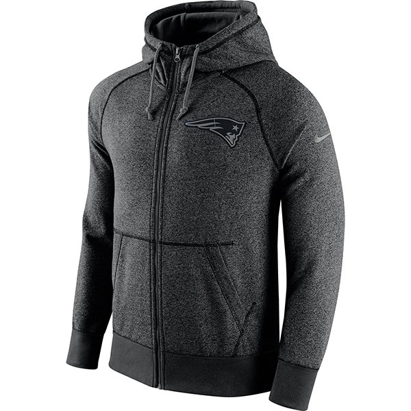 Nike Gridiron Full Zip Hood-Gray