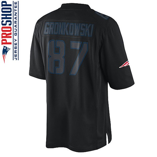 Youth Nike Rob Gronkowski Impact Jersey-Black