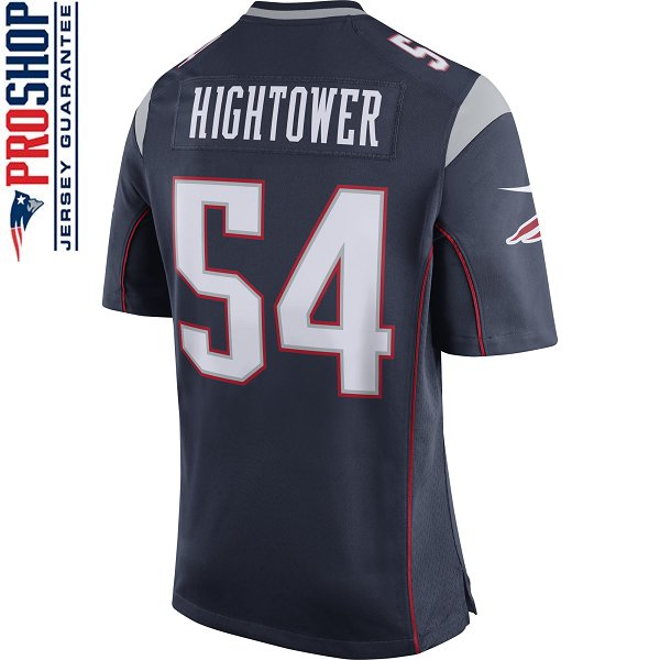 Nike Dont'a Hightower #54 Game Jersey-Navy