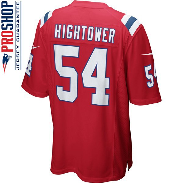 Nike Donta Hightower #54 Throwback Game Jersey-Red