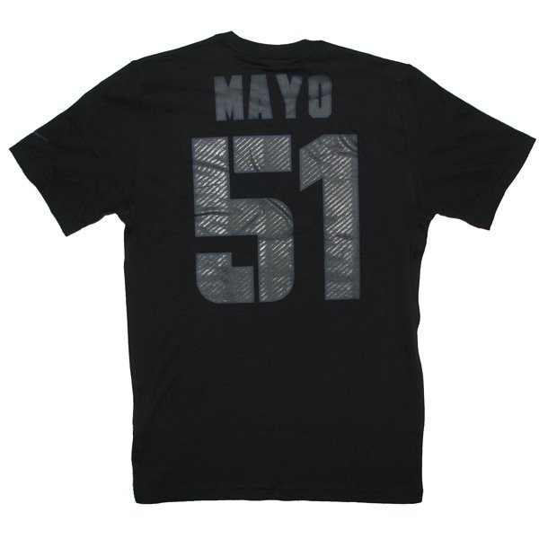 2012 Nike Mayo Name and Number Tee - Black