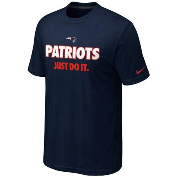 Patriots Just Do It Tee-Navy II