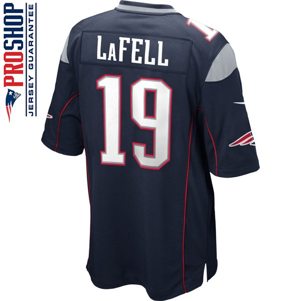 Nike Brandon LaFell #19 Game Jersey-Navy