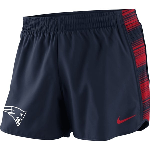 Ladies Nike Warp Pacer Shorts-Navy