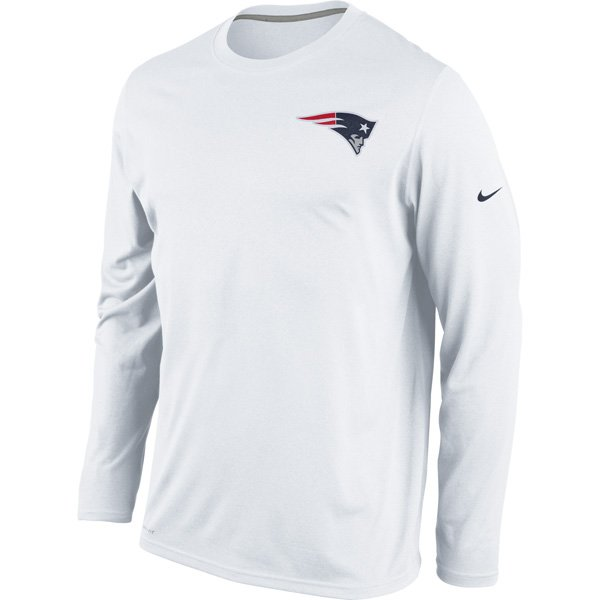 Nike Legend Long Sleeve Practice Tee-White