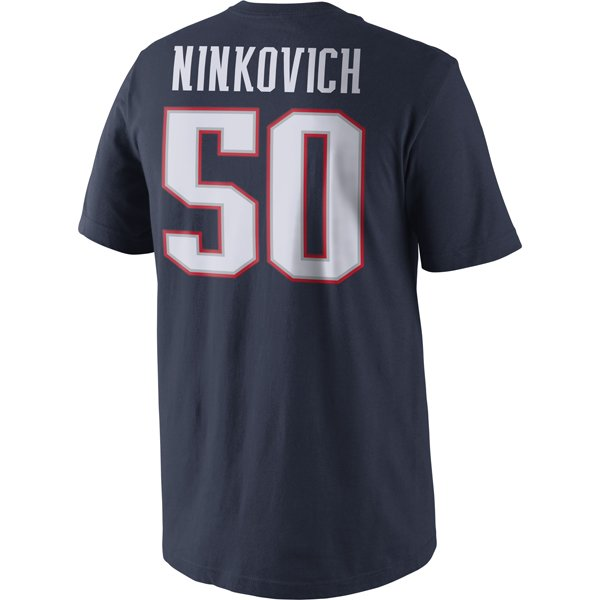 Nike Ninkovich Name and Number Tee