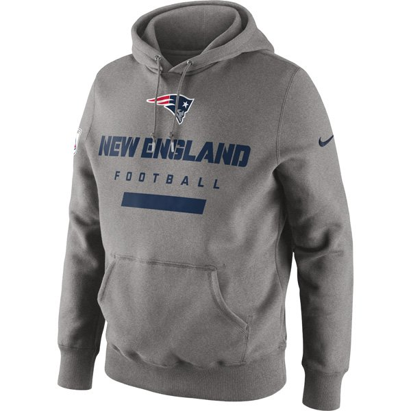 Nike Patriots Property of Hood-Gray