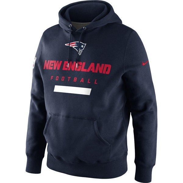 2012 Nike Belichick Hood - Navy