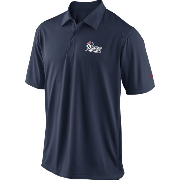 Nike Patriots Coaches Polo-Navy
