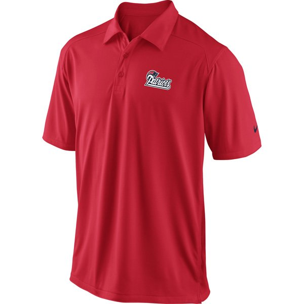 Nike Patriots Coaches Polo-Red