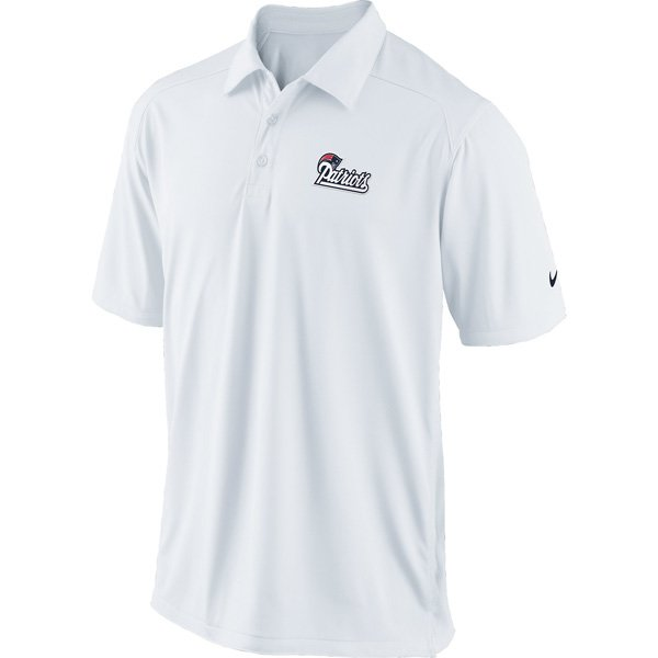 Nike Patriots Coaches Polo-White